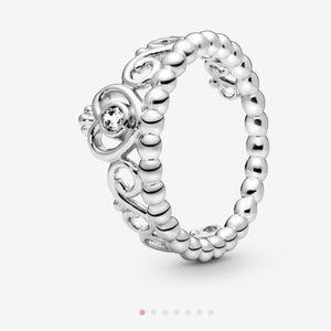 Princess Tiara Crown Pandora ring